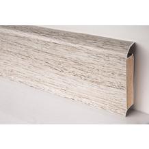 Döllken EP 60/13 Design-Kernsockelleiste für Designbeläge 2562(W562) pinie weiß 250 cm
