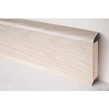 Döllken EP 60/13 Design-Kernsockelleiste für Designbeläge 2629 alba oak snow 250 cm