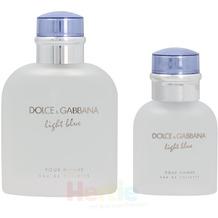 Dolce & Gabbana D&G Light Blue Pour Homme Giftset - 165 ml