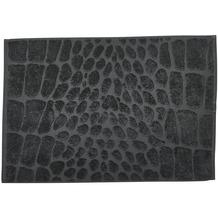 done.® Black Line Safari Croco Badvorleger 50 x 70 cm Anthracite