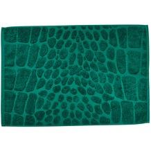 done.® Black Line Safari Croco Badvorleger 50 x 70 cm Dark Green