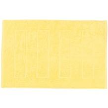 done.® Daily Uni Badvorleger 50 x 70 cm Lemon