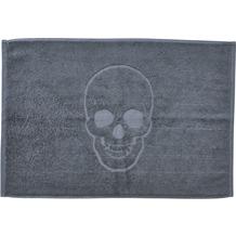 done.® Style Badvorleger Skull 50 x 70 cm Anthracite