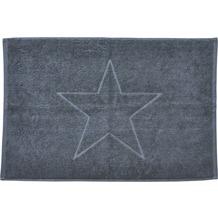 done.® Style Badvorleger Star 50 x 70 cm Anthracite