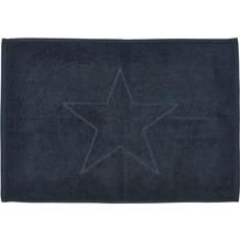 done.® Style Badvorleger Star 50 x 70 cm Black