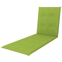 doppler Auflage Gartenliege Look ca. 195x58x4 cm D. 836 fresh green