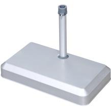 doppler Balkonschirmständer 20 kg silber - für Rohr 25-32mm