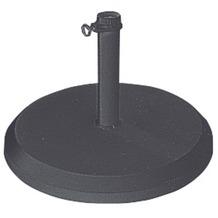 doppler Betonsockel mit Kunststoff-Abdeckung 25kg anthrazit - für Rohr 26-33-37mm