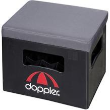 doppler Getränkekasten-Sitzauflagen ca. 40x30cm D. 840 anthrazit