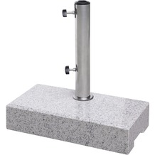 doppler Granitsockel f. Balkon ca. 25 kg rechteckig