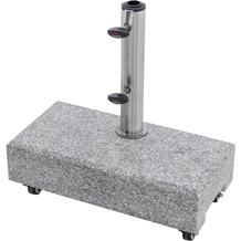 doppler Granitsockel f. Balkon ca. 25 kg rollbar