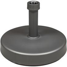 doppler HD-PE-Füllsockel 25kg - anthrazit - m.Sand befüllbar - für Rohr 18-54mm