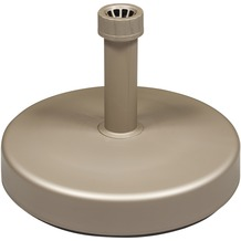 doppler HD-PE-Füllsockel 25kg - greige - m.Sand befüllbar - für Rohr 18-54mm