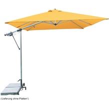 doppler Pendelschirm Sunline ca. 220x300/7tlg. D. 816 orange, inkl. Ständer+Hülle Sonnenschirm