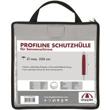 doppler Profi Line Schutzhülle grau in Tragetasche mit RV, mit Stab 350 cm