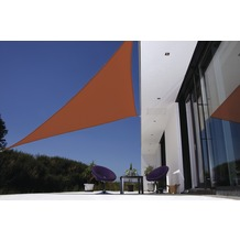 doppler Sonnensegel Darwin Dreieck Fb.931 terra cotta 5x5x5 m