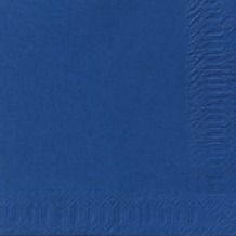 Duni Dispenser-Servietten 2 lagig 33 x 33 cm Dark Blue, 300 Stück