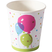 Duni Duni Becher Pappe Splash balloons 20 cl 10er