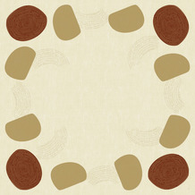 Duni Dunicel-Mitteldecken Earthy 84 x 84 cm 20 Stück