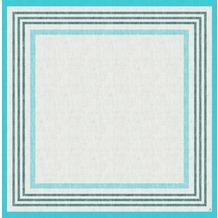 Duni Dunicel-Mitteldecken Raya blue 84 x 84 cm 100 Stück