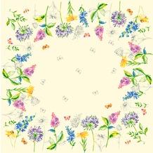 Duni Dunicel-Mitteldecken Sweet Spring 84 x 84 cm 20 Stück