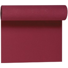 Duni Dunicel-Tischläufer Tête-à-Tête bordeaux 40cm breit, perforiert 1 Stück