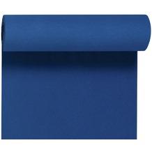 Duni Dunicel-Tischläufer Tête-à-Tête dunkelblau, 40cm breit, perforiert 1 Stück