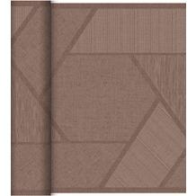 Duni Dunicel-Tischläufer Tête-à-Tête Elwin Greige, 40cm breit, perforiert 1 Stück