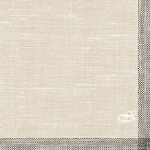 Duni Dunisoft-Servietten, Motiv Weave black 20x20 cm 180 St.