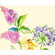 Duni Dunisoft-Servietten Sweet Spring 40 x 40 cm 60 Stück