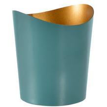 Duni Kerzenhalter Ripple ocean teal, Metall 80 x 70 mm 1 Stück