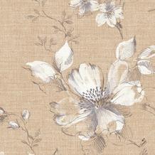 Duni Klassik-Servietten Floris 40 x 40 cm 4lagig, geprägt, 1/4 Falz 50 Stück