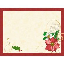 Duni Papier® Tischsets Christmas Flower 30 x 40 cm 250 Stück