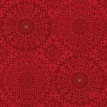 Duni Servietten 3-lagig Motiv Festive Charme Red 24 x 24 cm 20 Stück