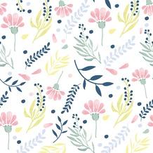 Duni Servietten 3-lagig Motiv Floral Paints 33 x 33 cm 20 Stück