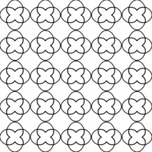 Duni Servietten 3-lagig Motiv Sati White 33 x 33 cm 20 Stück