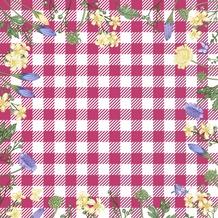 Duni Servietten 3-lagig Motiv Spring Table Pink 33 x 33 cm 20 Stück