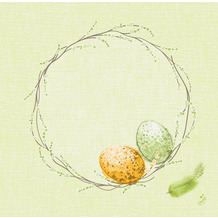 Duni Servietten Dunisoft® Easter Pasture 40 x 40 cm 12er