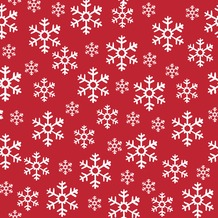 Duni Servietten Red Snowflakes 33 x 33 cm 20 St.