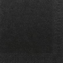 Duni Servietten Tissue schwarz 40 x 40 cm 50er
