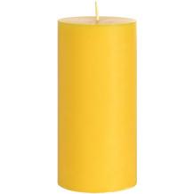 Duni Stumpenkerzen, 100% Stearin, ca. 50h gelb 150 x 70 mm 1 Stück