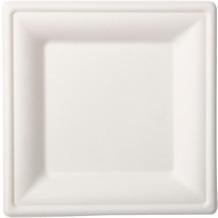Duni Teller Bagasse weiß 16 x 16 cm 10er