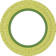 Duni Teller Pappe Rice Green ø 22 cm 10er
