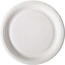 Duni Teller Pappe weiß beschichtet ø 22 cm 20er