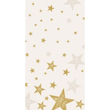 Duni Tischdecke Shining Star Cream 138 x 220 cm