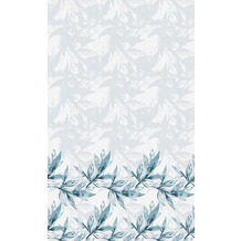 Duni Tischdecken Dunicel® Blue Leaves 138 x 220 cm 1er