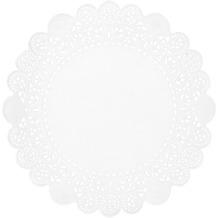 Duni Tortenspitzen Rund weiß Ø 20 cm 250 Stück