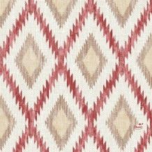 Duni Zelltuch-Serviette, Motiv Malina bordeaux 33x33 cm 50 St.