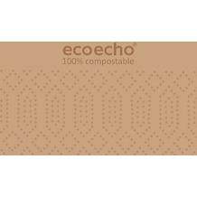 Duni Zelltuch-Servietten ecoecho® 40 x 40 cm 3lagig, 1/8 BF 250 Stück