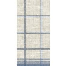 Duni Zelltuch-Servietten Motiv Linus Classic blue 40x40 cm 3lagig, 1/8 BF 250 St.
